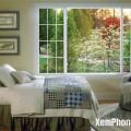 Cửa sổ là nơi mang lại nguồn năng lượng tươi mới cho ngôi nhà