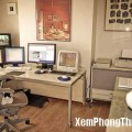 Bố trí không gian làm việc tại nhà