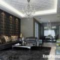 Không nên sử dụng nhiều màu đen khi trang trí nội thất nhà