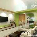 Phòng khách nên bố trí ở những nơi có nhiều vượng khí