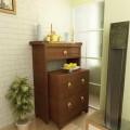 Cách hóa giải cho phòng ngủ phía sau bàn thờ